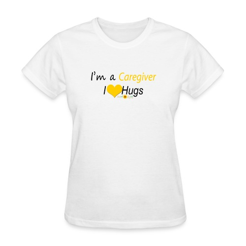 Caregiver Hugs - Yellow - Women's T-Shirt