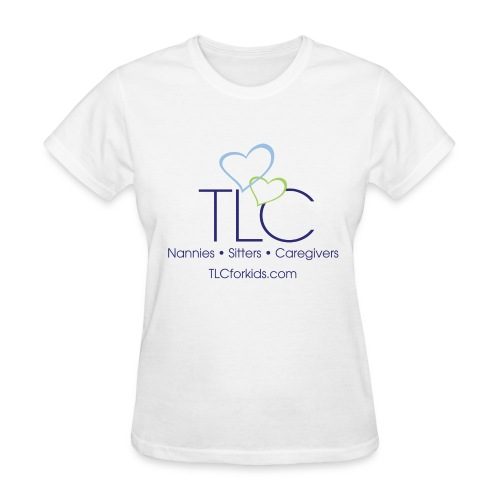 TLC color logo for WHITE SHIRTS ONLY - Women's T-Shirt