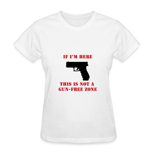 GunFreeZone - Women's T-Shirt