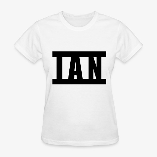 I A N Logo - Women's T-Shirt