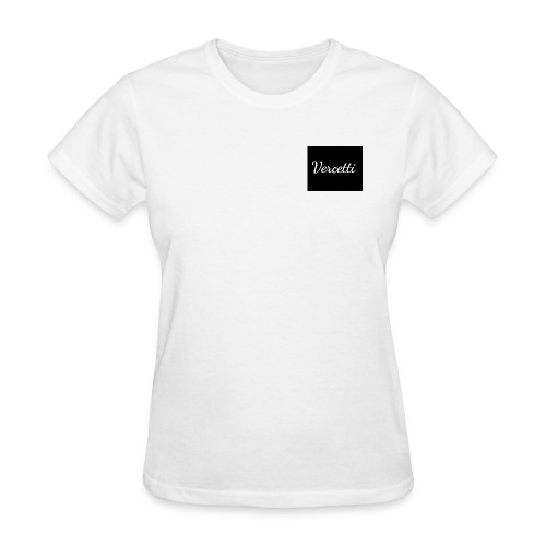 White Vercetti Summer shirt. - Women's T-Shirt