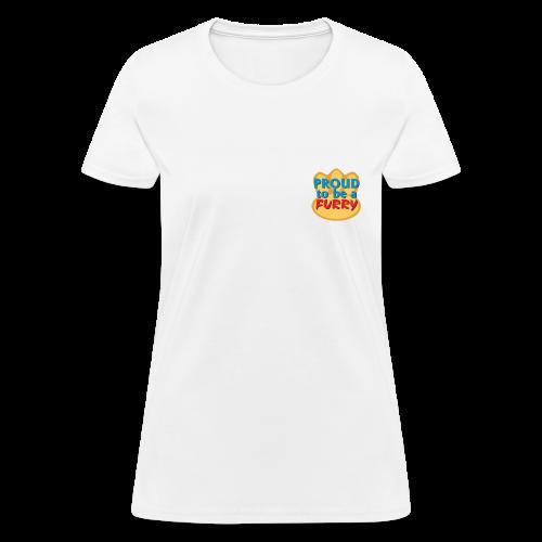 Proud to be a Furry! - Women's T-Shirt