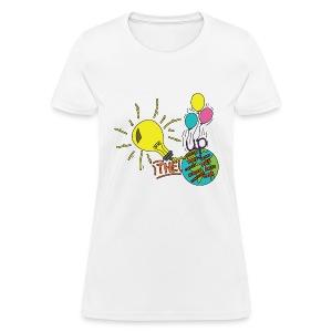 Light Up The World - Women's T-Shirt