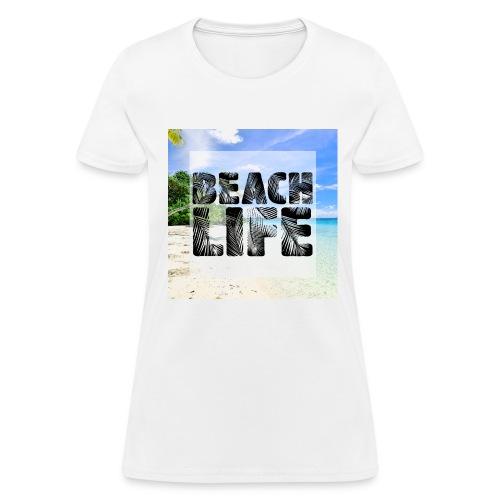Beach Life Design - Women's T-Shirt