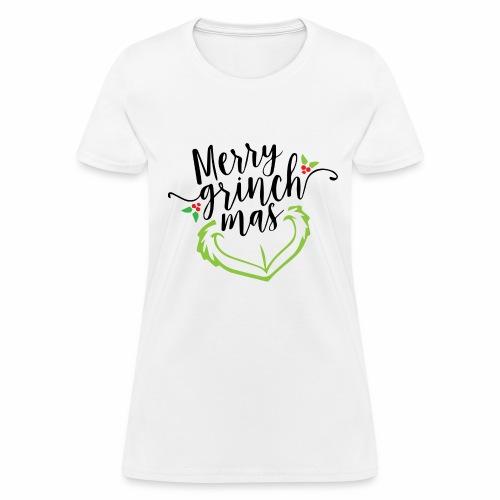 Merry Grinchmas - Women's T-Shirt