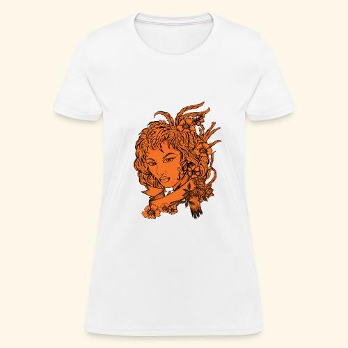 Women Face - Women's T-Shirt