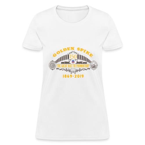 Golden Spike Color UP Logo - Women's T-Shirt