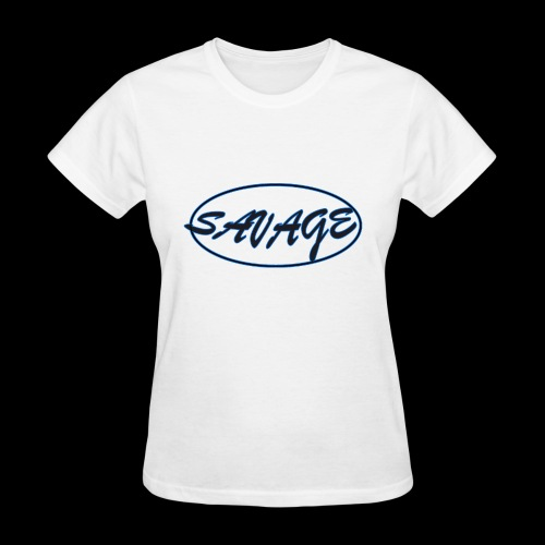 Savage Script Oval - Women's T-Shirt