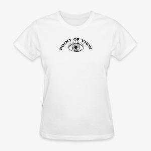 Point Of View Eye Design - Women's T-Shirt