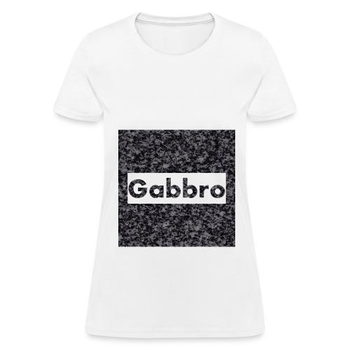 Gabbro Background - Women's T-Shirt