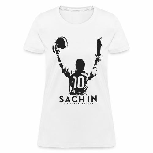 SACHIN- A billion dreams - Women's T-Shirt