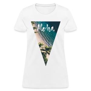 Aloha Pyramid - Women's T-Shirt