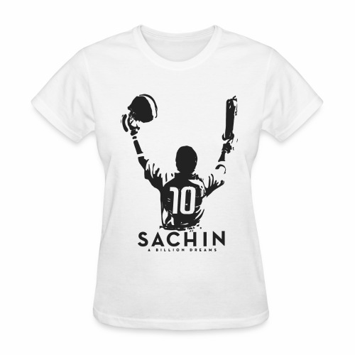 SACHIN- A billion dreams - Women's T-Shirt