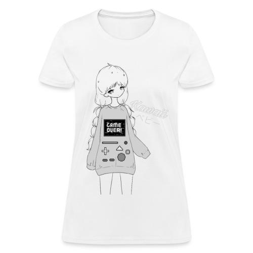 Game Over Kawaii - Women's T-Shirt