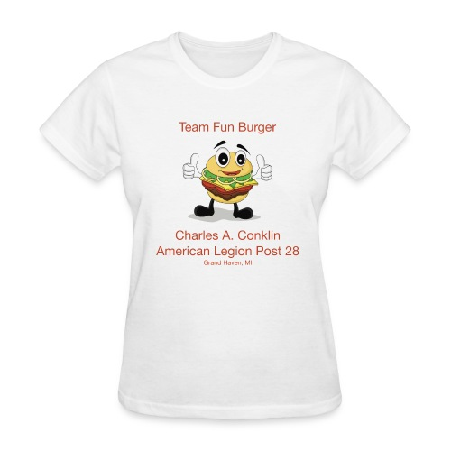 Team Fun Burger - Women's T-Shirt