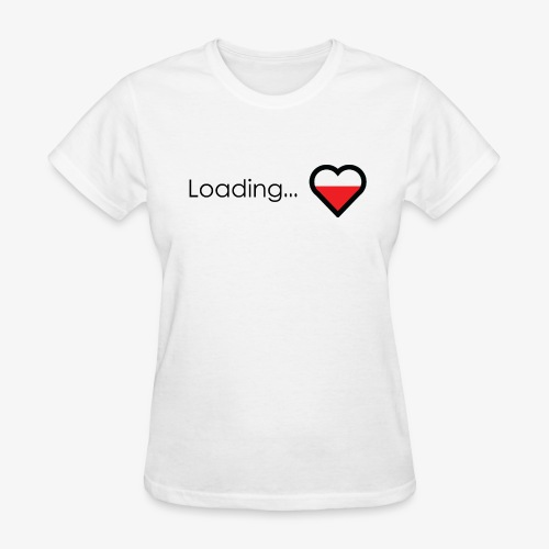 Loading heart - Women's T-Shirt
