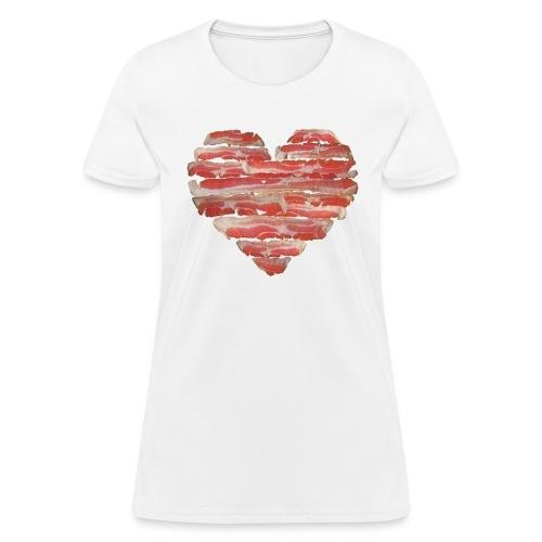 BACON = LOVE - Women's T-Shirt
