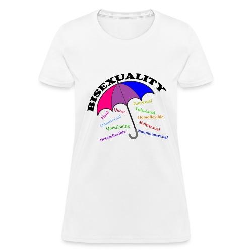 Bi+ Umbrella - Women's T-Shirt