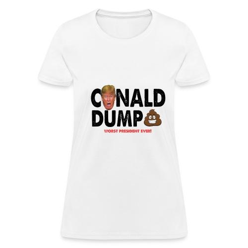 Conald Dump Worst President Ever - Women's T-Shirt