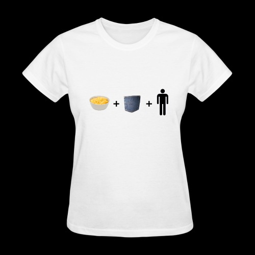 Macaroni Pocket Man Shirt - Women's T-Shirt