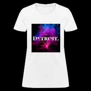 I. AM. DETROIT. ASTRO - Women's T-Shirt