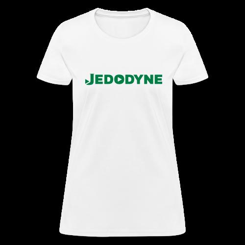 JEDODYNE CLASSIC GREEN TEXT - Women's T-Shirt