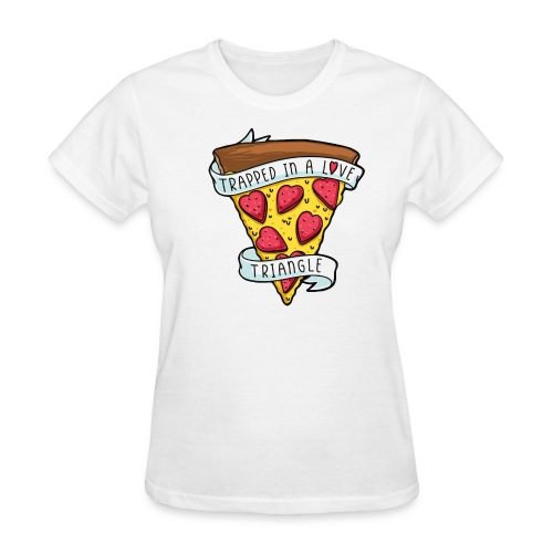 pizza valentine - Women's T-Shirt