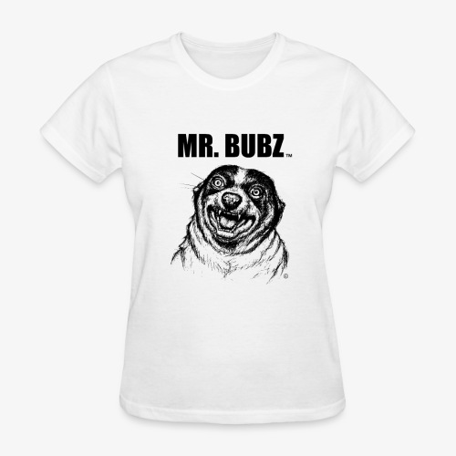 Sketchy Mr. Bubz - Women's T-Shirt