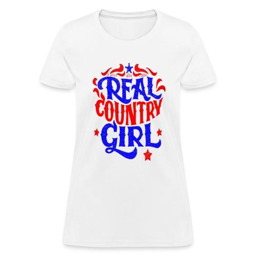 Real Country Girls - Women's T-Shirt