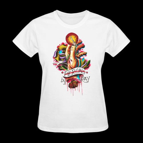 piercing hand - Women's T-Shirt