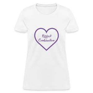 Perfect Combination Girl T Shirt - Women's T-Shirt