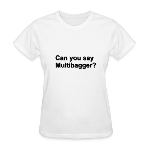 WhiteShirt Multibagger - Women's T-Shirt