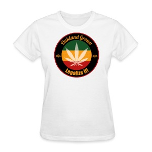 Oakland Grown Cannabis 420 Wear - Women's T-Shirt