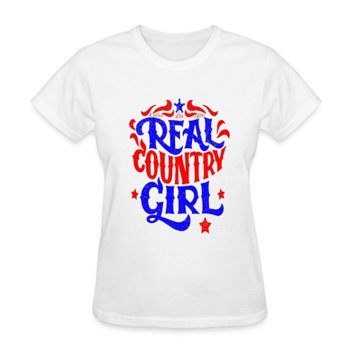 Real Country Girls - Women's T-Shirt