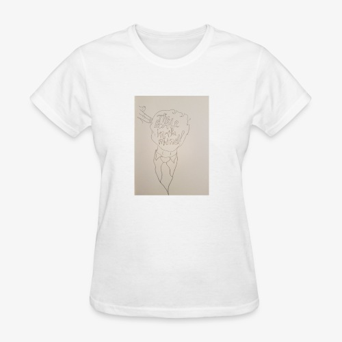 The Battle In The Mind - Women's T-Shirt