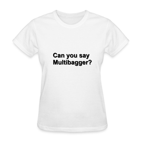 WhiteShirt Multibagger - Women's T-Shirt