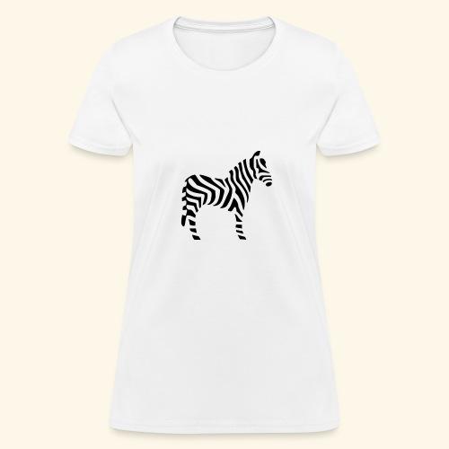 Zebra T - Women's T-Shirt