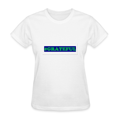 I AM grateful - Women's T-Shirt