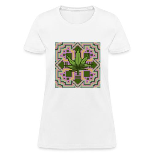 Trippy Marry Jay Leaf - Women's T-Shirt