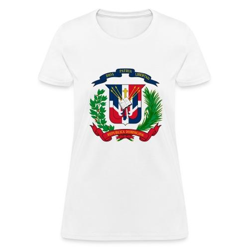 Dominican shield - Women's T-Shirt