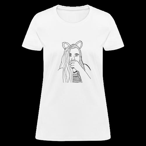 Ekcat Sketch Collection - Women's T-Shirt