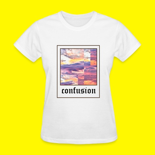 polaroid confusion sunset - Women's T-Shirt