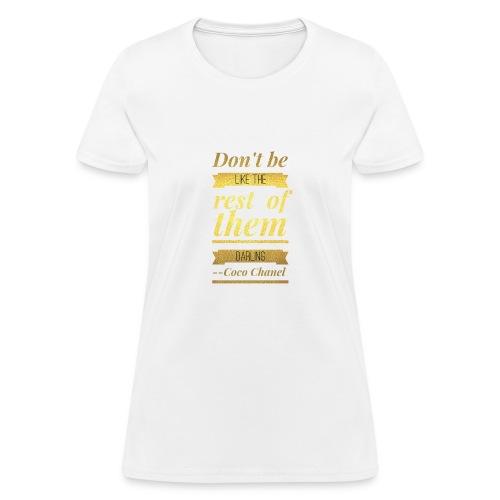Coco Chanel - Women's T-Shirt