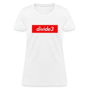 divide3 - Women's T-Shirt