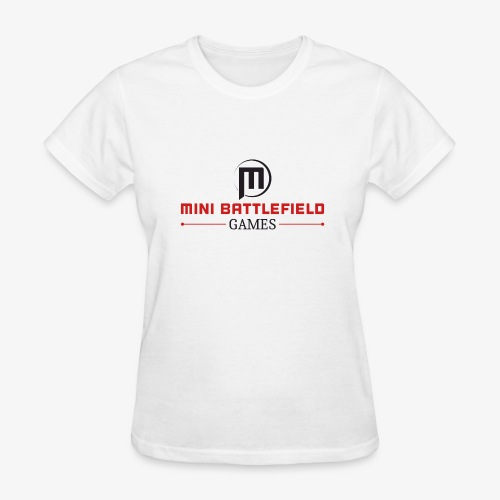 Mini Battlefield Games Logo - Women's T-Shirt