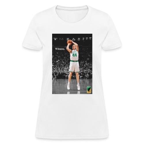 WITNESS: Brian Scalabrine - Women's T-Shirt