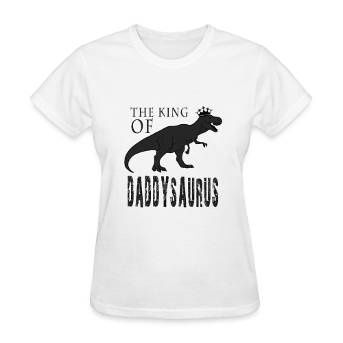 Fathers Day Daddysaurus - Women's T-Shirt
