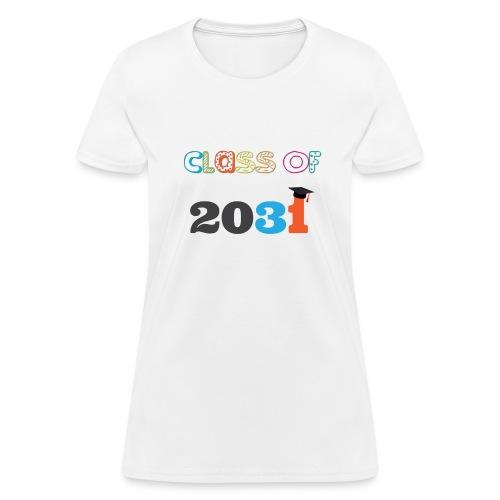 class of 2031 - Women's T-Shirt