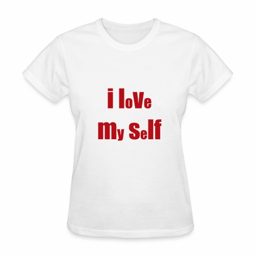 i love my self - Women's T-Shirt