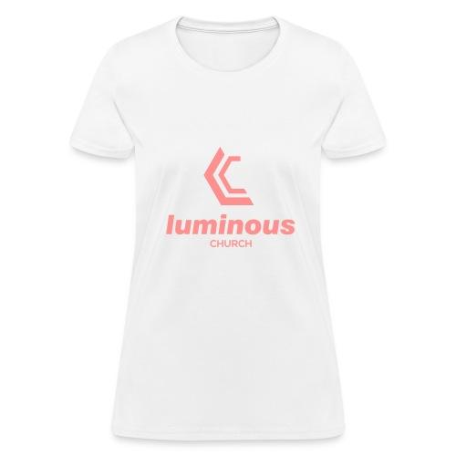 LUMINOUS LOGO - Women's T-Shirt
